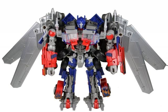 DOTM - Transformers - DA-15 Jetwing Optimus Prime - Loose 100% Complete