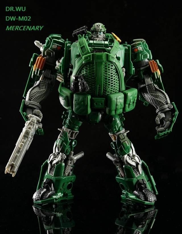 DR. Wu - DW-M02 Mercenary