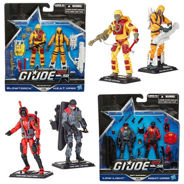 GIJoe - 50th Anniversary - Wave 1 - Set of 4 Figures