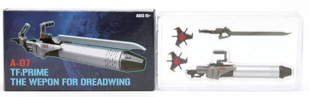 SXS A07 - Dreadwing Weapon Set - MIB