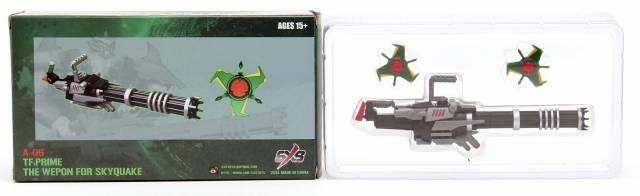 SXS A06 - Skyquake Weapon Set
