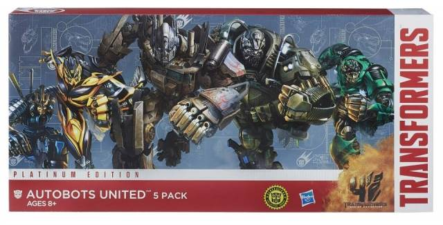 Transformers Age of Extinction - Platinum Edition - Autobots United 5-Pack