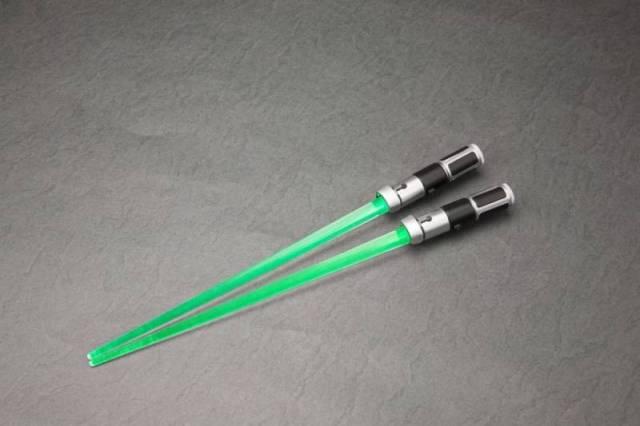 Star Wars - Yoda Light-up ver - LIGHTSABER CHOPSTICKS