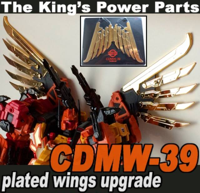CDMW-39 - The King's Power Parts - Plated Wing Upgrade for Feral Rex