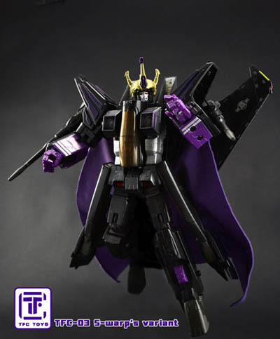 TFC-03 - S-Warps Coronation Crown & Cape Set