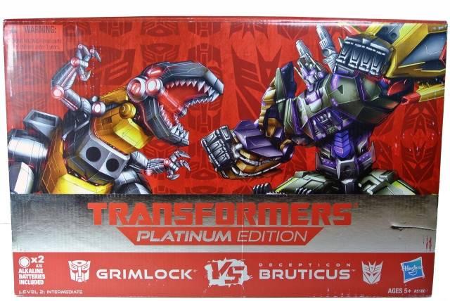 Platinum Edition - Grimlock vs. Bruticus