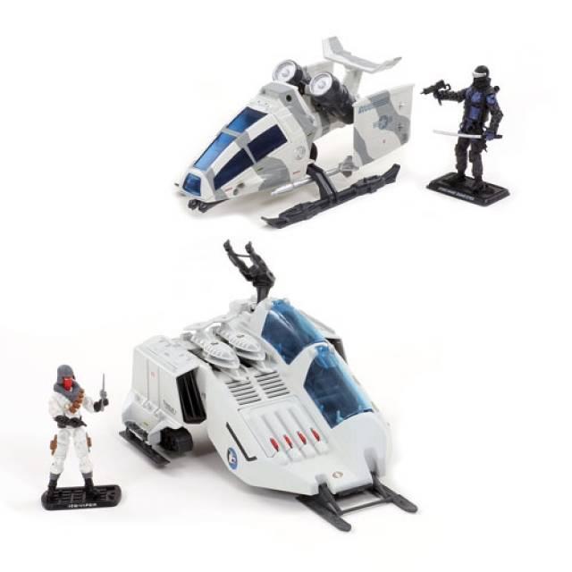 GIJoe - 50th Anniversary - Battle Below Zero Set - Ghost Hawk and Cobra W.O.L.F