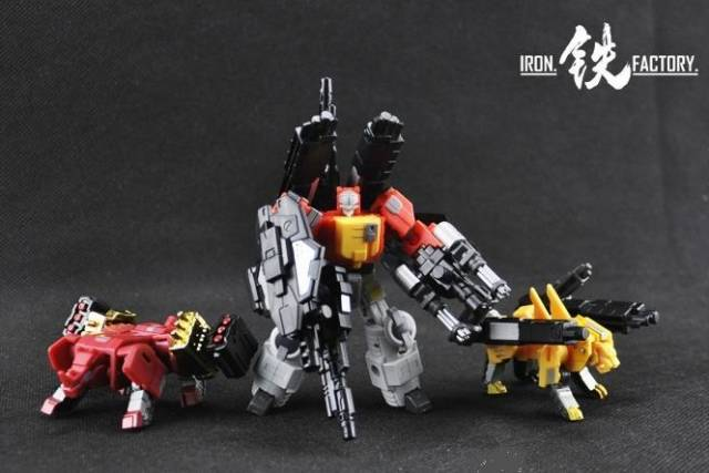 Iron Factory - IF-EX03 Sonictech Bassrhino Leotrible - Set of 3