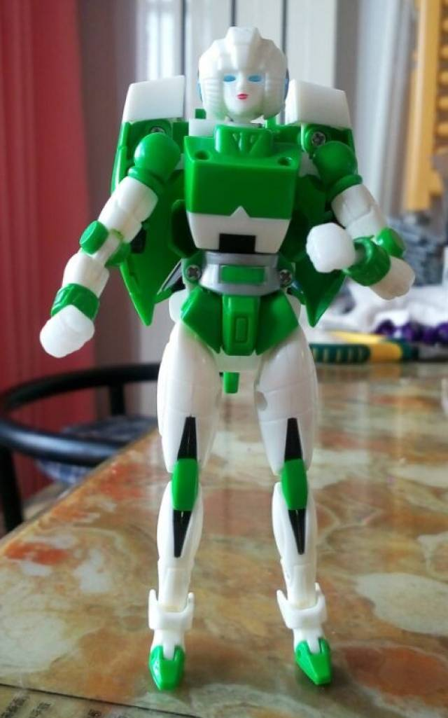 MGT-01 Delicate Warrior - Green Version