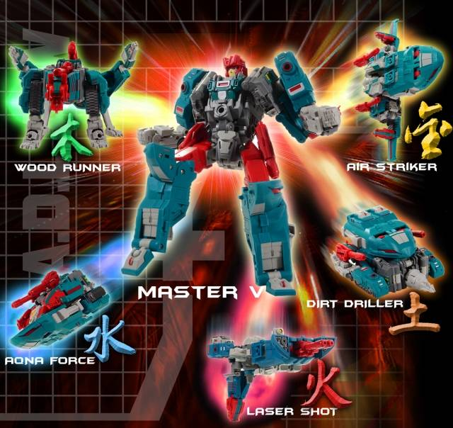 Fansproject - Function X-V - M.A.D.L.A.W  - MADLAW
