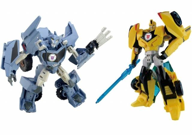 Transformers Adventure - TAVVS01 - Bumblebee Vs. Steeljaw