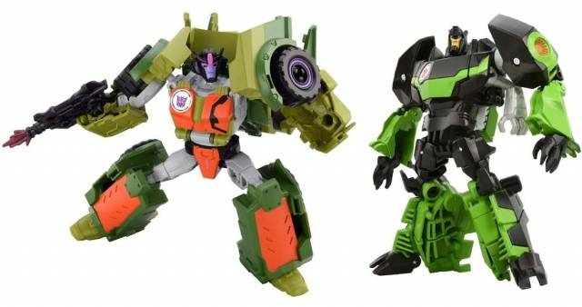 Transformers Adventure - TAVVS02 - Grimlock vs. Rollbar