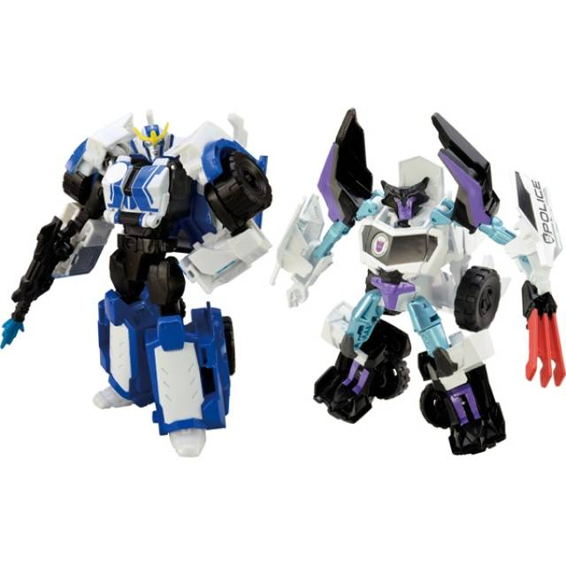 Transformers Adventure - TAVVS03 - Strongarm vs. Wolf