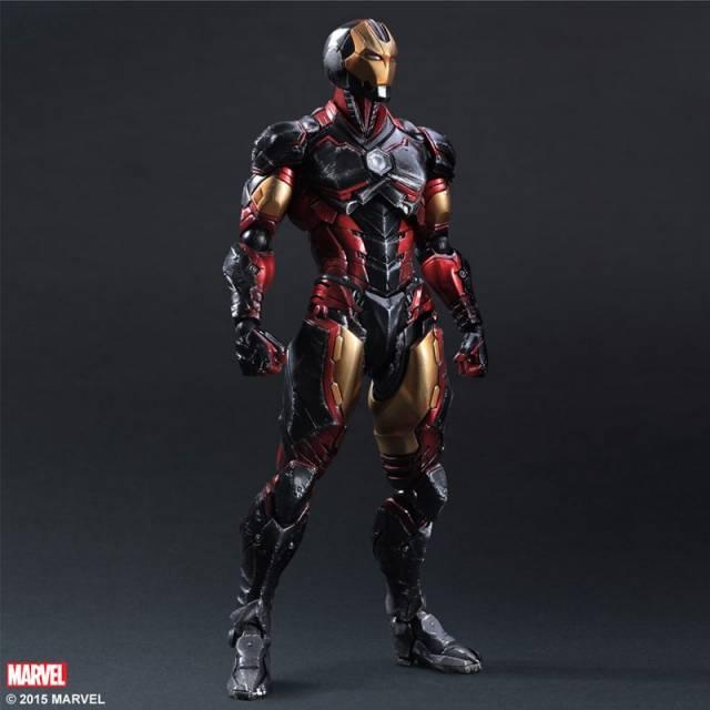 Play Arts Kai - Iron Man - Marvel Comics Variant