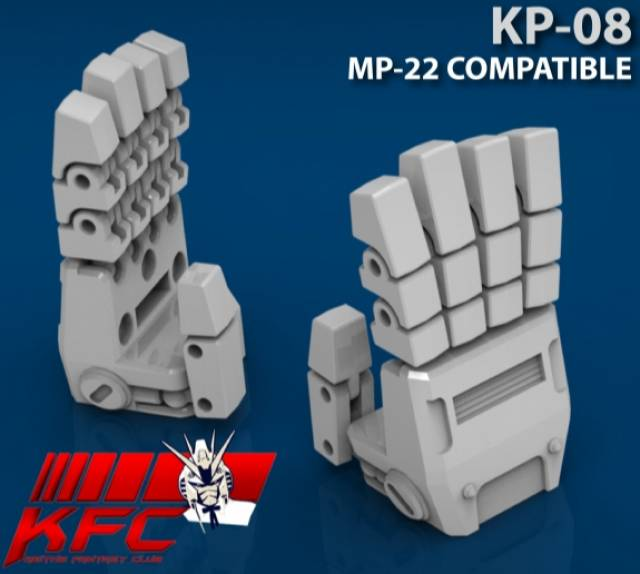 KFC - KP-08 Posable Hands for MP-22 Ultra Magnus