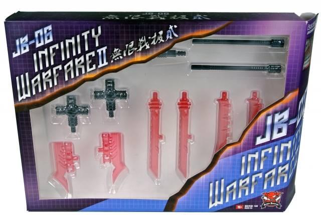 JB-06 - Infinity Warfare Upgrade Kit II - Red Version- MIB