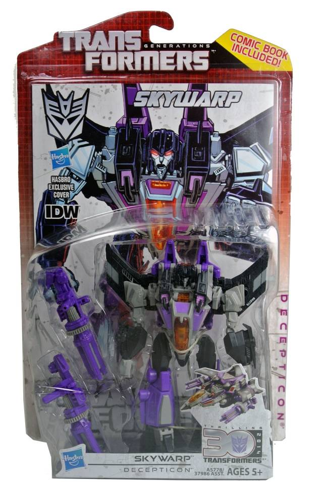 Transformers 2014 - Generations Series 02 - Deluxe - Fall of Cybertron Skywarp - MOSC
