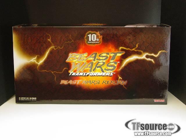 Japanese Beast Wars - BWR-01 Beast Wars Reborn - Convoy & Megatron