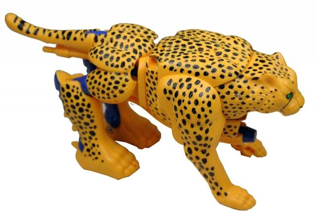 Japanese Beast Wars - Cheetor - Loose - 100% Complete