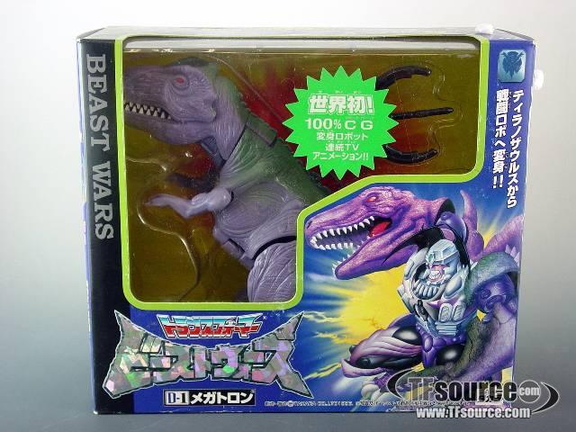 Japanese Beast Wars - D-1 Megatron