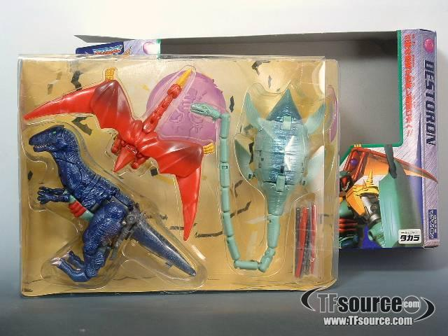 Japanese Beast Wars - D-35 Magmatron - MIB - 100% Complete