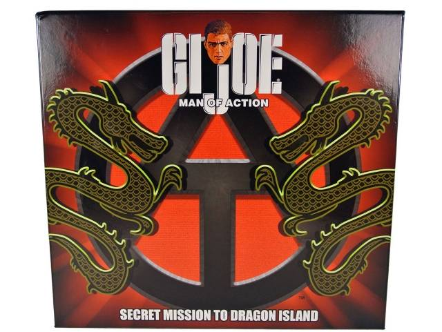 JoeCon 2013 - Adventure Team - Secret Mission To Dragon Island - MIB - 100% Complete
