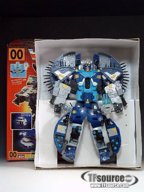 Transformers G1 Japanese Supreme Primus MIB 100