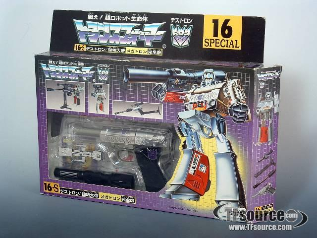 Japanese G1 - 16-s Megatron - MIB - 100% Complete