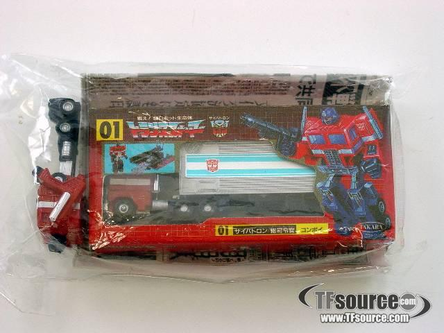 Transformers G1 - Japanese - Takara Mini Toy Shop - Convoy - MISB