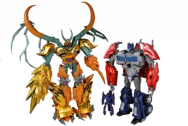 Japanese Transformers Prime - Year of the Snake Giftset - Loose - 100% Complete