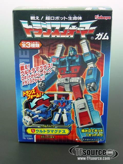 Kabaya Transformers Gum Box Figures - Ultra Magnus - MISB