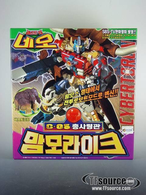 Korean Beast Wars - Big Convoy - MISB