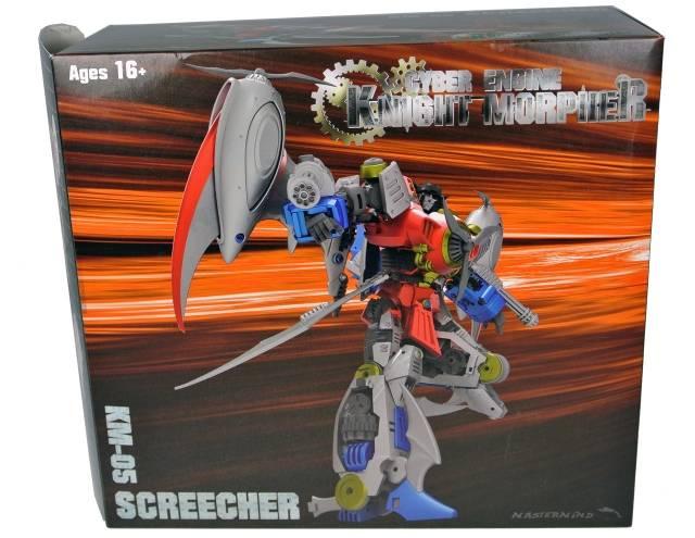KM-05 Knight Morpher Screecher - MIB - 100% Complete