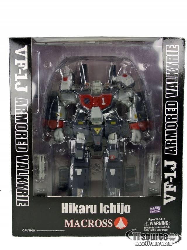 Yamato Macross  - 1/60 VF-1J Armored Valkyrie Hikaru Ichijo - MIB - 100% Complete