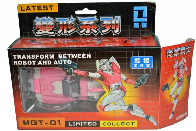 iGear - MGT-01 Delicate Warrior Arcee - MIB - 100% Complete