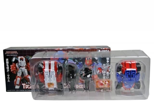 Make Toys - Manga Mech Series - Trash-Talk & Cogwheel - MIB - 100% Complete