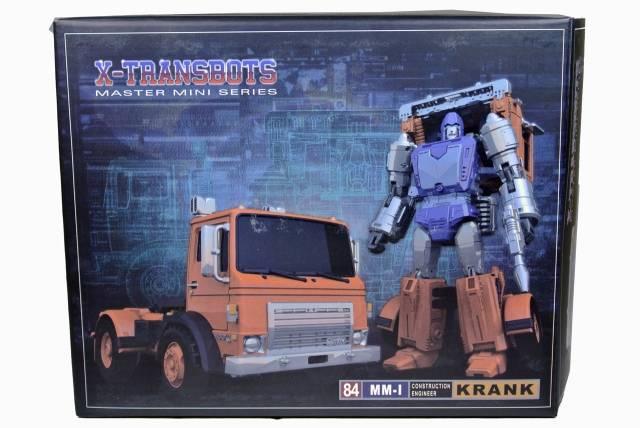 X-Transbots - MM-I Krank - MIB - 100% Complete