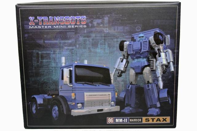 Xtransbots - MM-2 Stax - MIB - 100% Complete