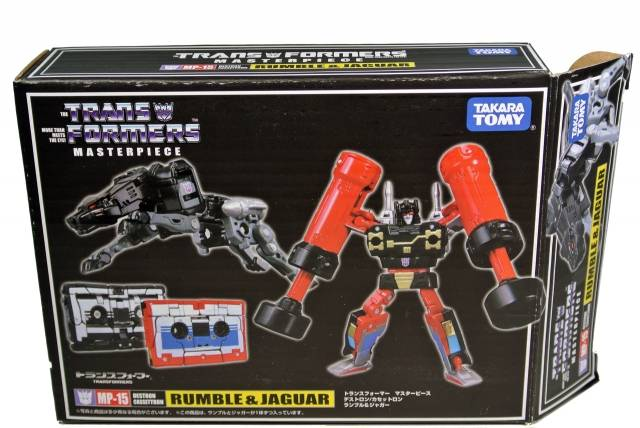 MP-15 - Masterpiece Ravage & Rumble - MIB - 100% Complete