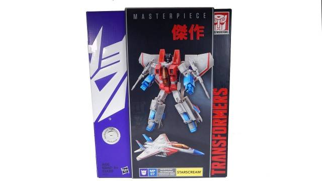 Masterpiece Starscream - Toys R US exclusive - MIB - 100% Complete