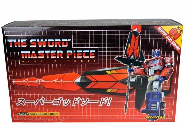 Transformers Masterpiece - Toystar Plus-01 Red Super God Sword - MIB - 100% Complete