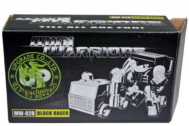 iGear - MW-02B Mini Warrior - Black Rager - MIB - 100% Complete