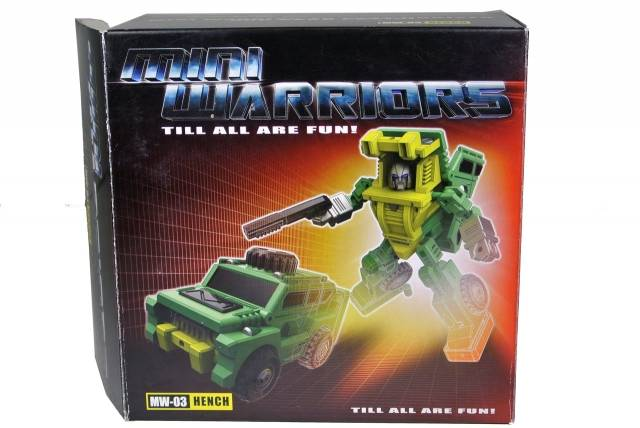 iGear - MW-03 Mini Warrior - Hench - MIB - 100% Complete