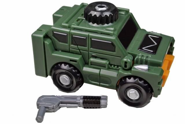 iGear - MW-03 Mini Warrior - Hench - Loose - 100% Complete