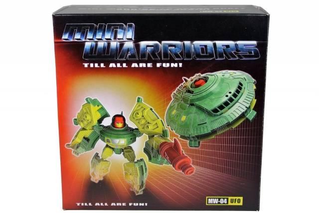 iGear - MW-04 Mini Warrior - UFO - MIB - 100% Complete