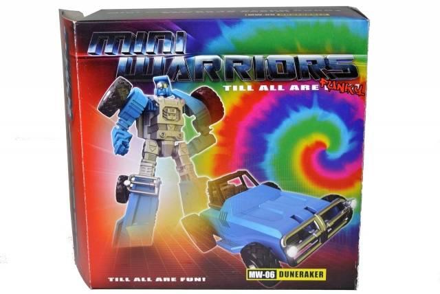 iGear - MW-06 Mini Warrior - Duneraker - MIB - 100% Complete
