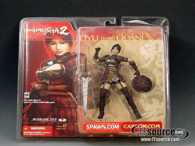 Mcfarlane Action Figure - Onimusha 2 Oyu From Odani