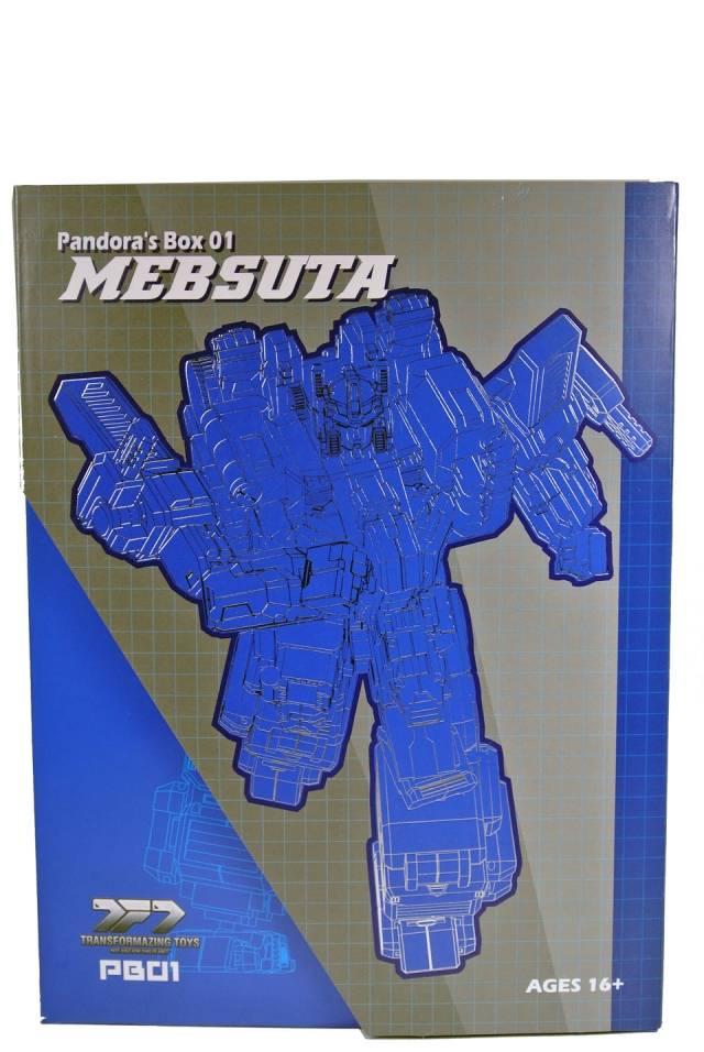 Transformazing Toys - Pandora's Box PB-01 - MIB - 100% Complete