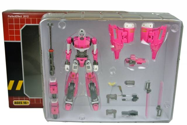PE-DX-01 RC - Perfect Effect - RC Motorcycle - Pink Version - MIB - 100% Complete