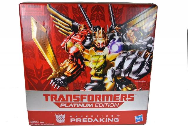 Platinum Edition - G1 Reissue - Predaking - MIB - 100% Complete